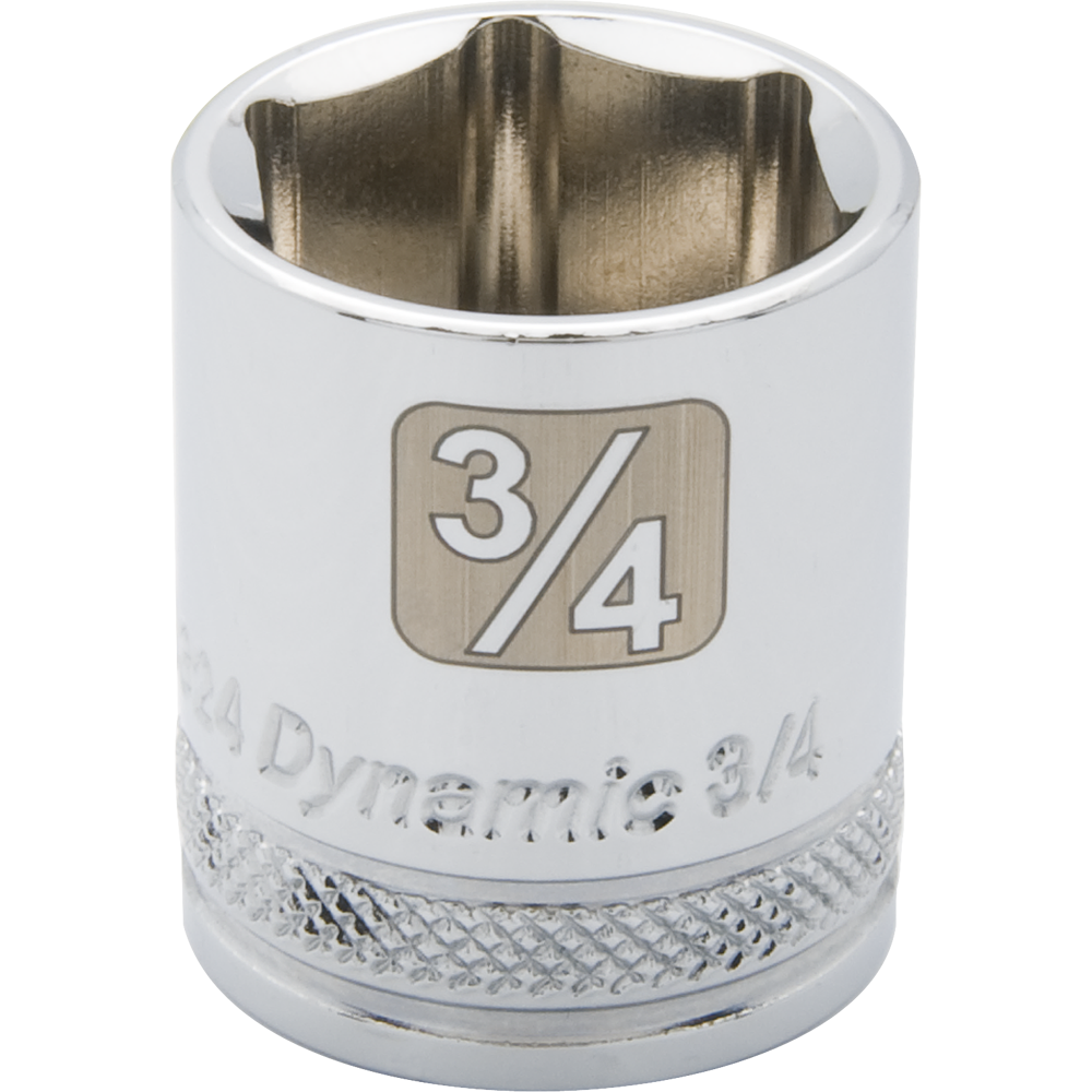 SAE Standard Chrome Sockets-6 Point