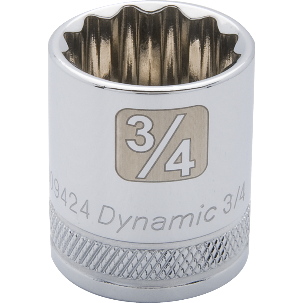 SAE Standard Chrome Sockets-12 Point