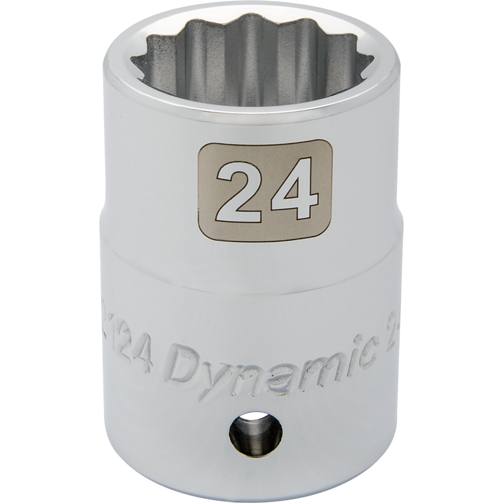Metric Standard Chrome Sockets-12 Point