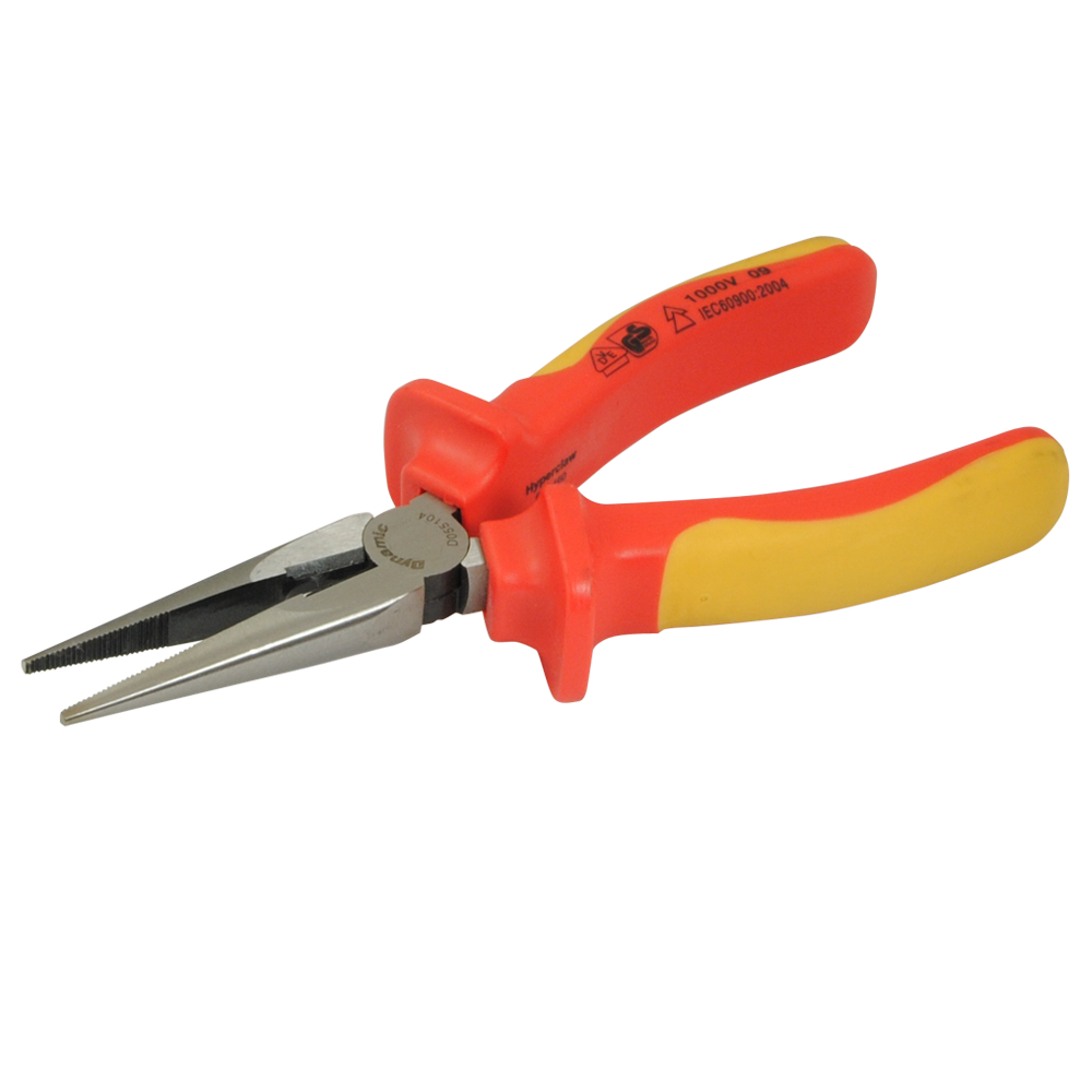 Long Nose Pliers-Insulated Handles