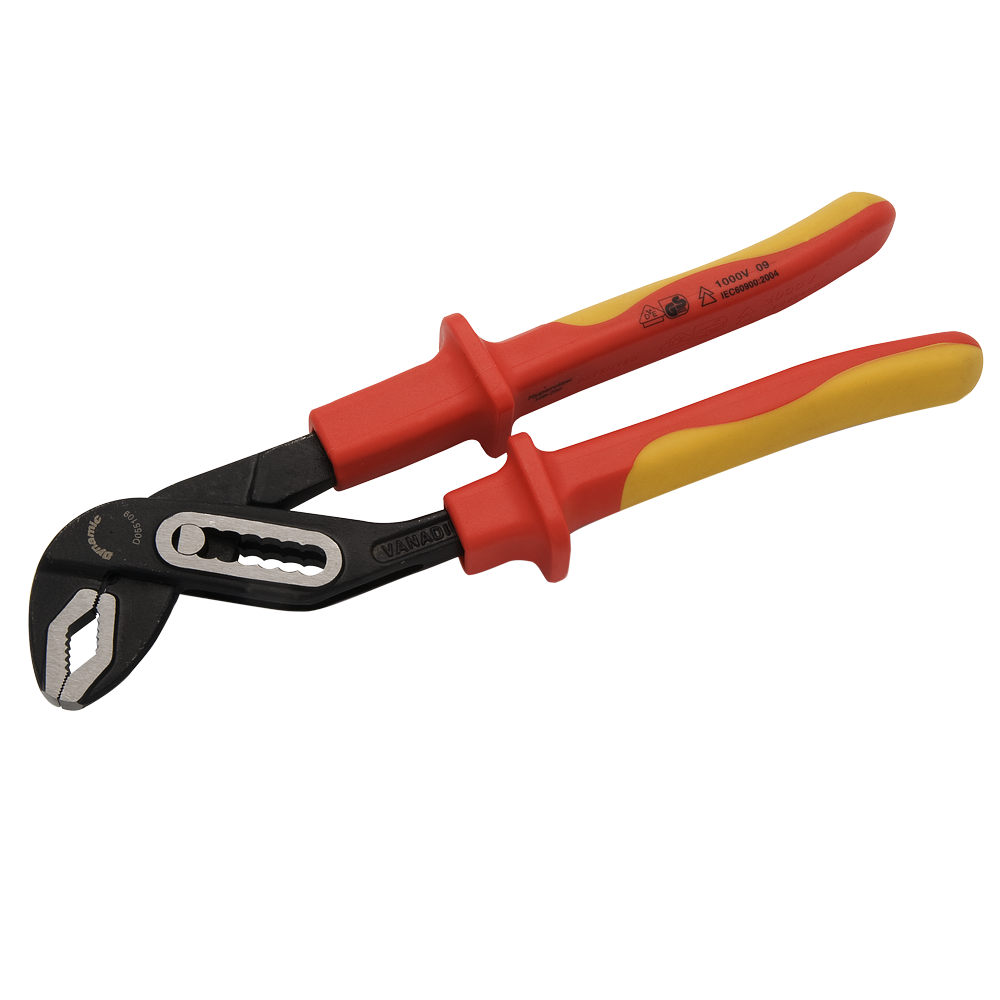 Box Joint Water Pump Pliers-Insulated Handles