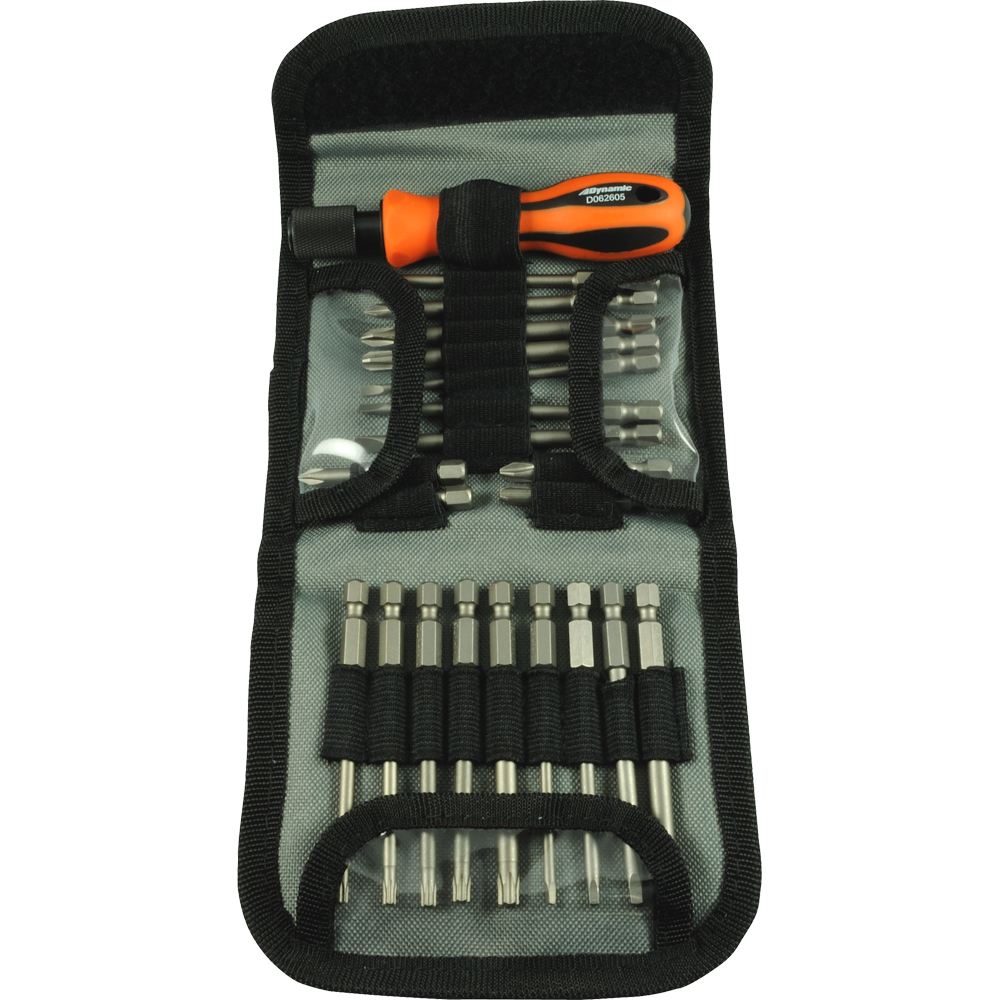 21 Piece Screwdriver Set with Removable Bits