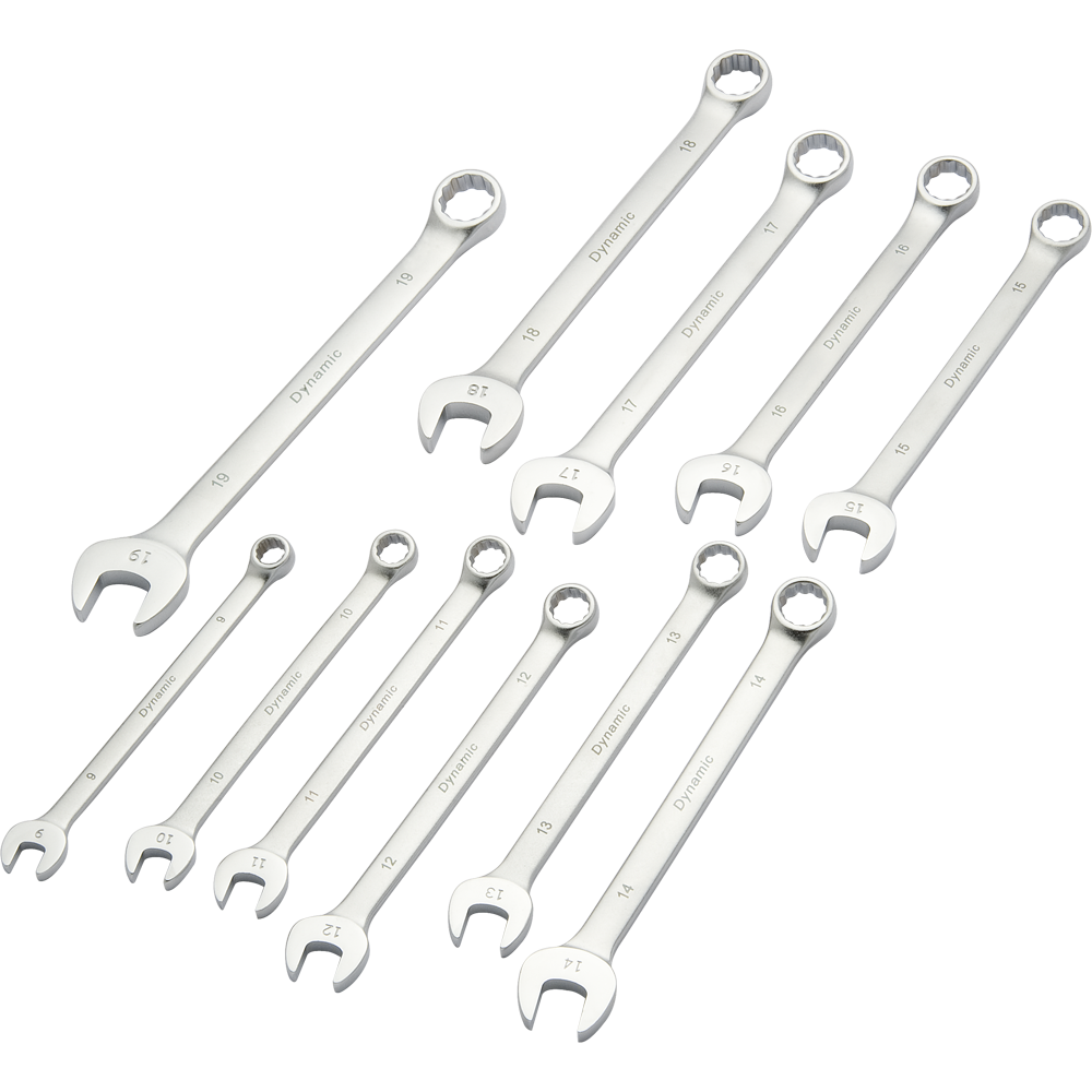 11 Piece Metric Combination Wrench Set